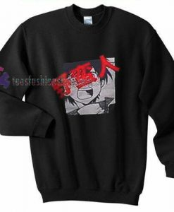 Anime Black Sweatshirt