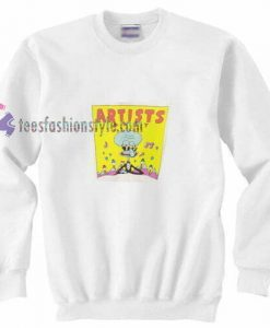 Artis Squidward t Sweatshirt