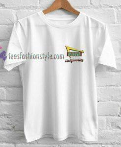 Burger California t shirt
