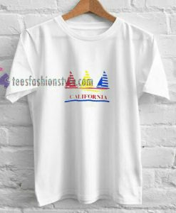 California Boat t shirt