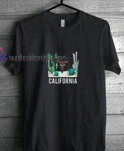 California Cactus t shirt