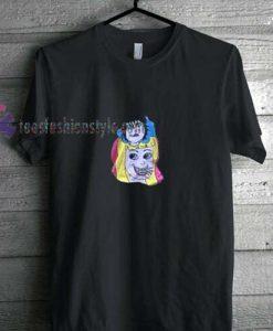 Cartoon Girl t shirt
