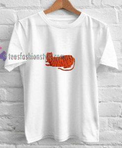 Cat Tiger t shirt