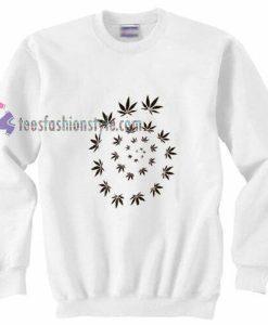 Weed Spiral Sweatshirt