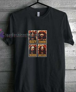 Young Black Sabbath t shirt