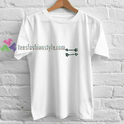 Arrow Pocket White t shirt