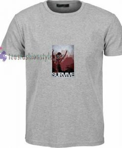 Tomb Raider Survive t shirt