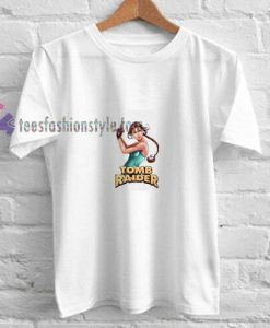 Tomb Raider Classic t shirt
