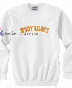 Westcoast White Sweatshirt