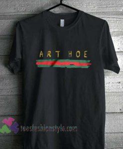ART HOE GCC inspired aesthetic T Shirt gift tees unisex cool tee shirts