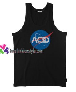 Acid Logo Nasa Tank Top gift tanktop shirt unisex custom clothing Size S-3XL