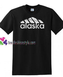 Alaska Adidas Logo T Shirt gift tees unisex adult cool tee shirts