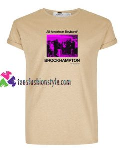 All American Boyband Brockhampton T Shirt gift tees unisex adult cool tee shirts
