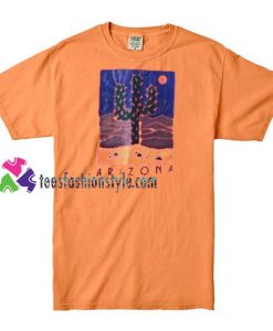 Arizona Cactus T shirt gift tees unisex adult cool tee shirts