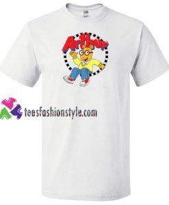 Arthur Cartoon Character T Shirt gift tees unisex adult cool tee shirts