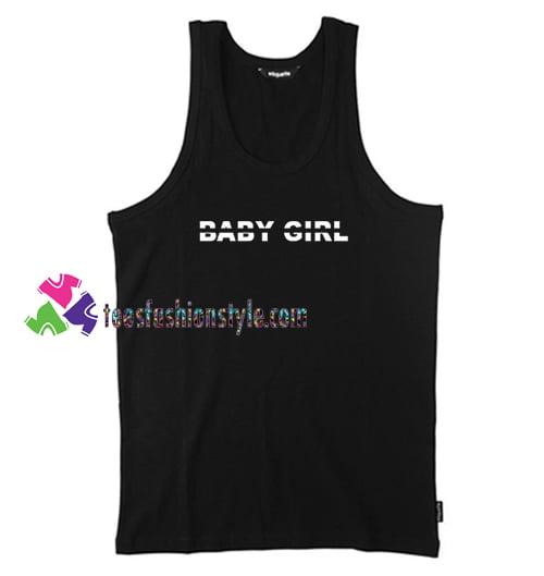 Baby Girl Tank Top gift tanktop shirt unisex custom clothing Size S-3XL