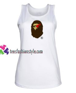 Bape Logo Tank Top gift tanktop shirt unisex custom clothing Size S-3XL