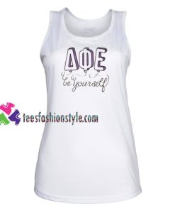 Be Your Self AQE Tank top gift tanktop shirt unisex custom clothing Size S-3XL