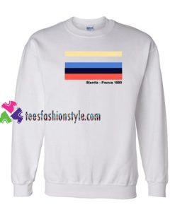 Biarritz France 1990 Sweatshirt Gift sweater adult unisex cool tee shirts