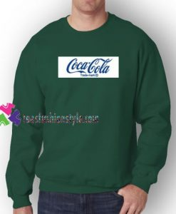 Coca Cola Logo Sweatshirt Gift sweater adult unisex cool tee shirts