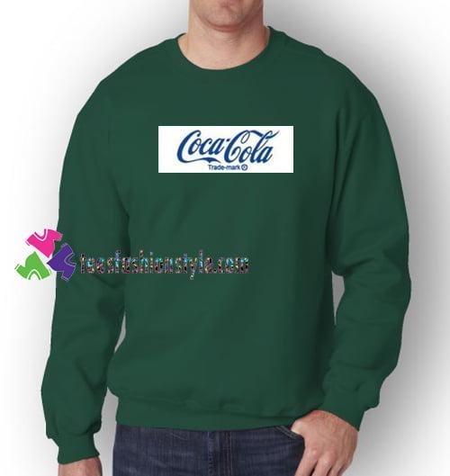 Coca Cola Logo Sweatshirt Gift sweater adult unisex cool tee shirts