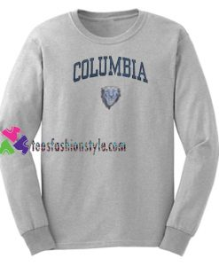 Columbia Sweatshirt Gift sweater adult unisex cool tee shirts