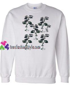 Face Print Sweatshirt Gift sweater adult unisex cool tee shirts