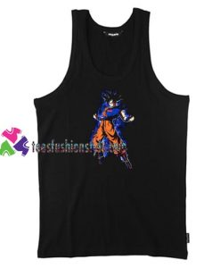 Goku Supreme Unisex Tank Top gift tanktop shirt unisex custom clothing Size S-3XL