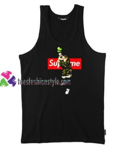 Goofy Disney Supreme Tank Top gift tanktop shirt unisex custom clothing Size S-3XL