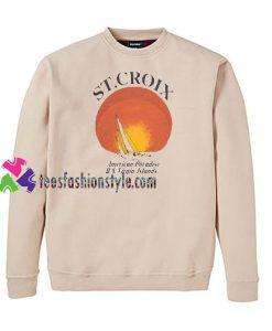 ST Croix Sweatshirt Gift sweater adult unisex cool tee shirts