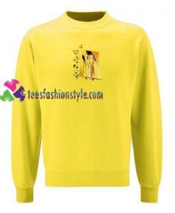 Sunflower Gustav Klimt Kiss Sweatshirt Gift sweater adult unisex cool tee shirts