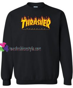 Thrasher Magazine Sweatshirt Gift sweater adult unisex cool tee shirts