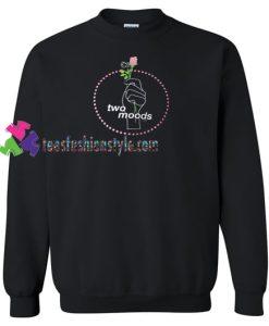 Two Moods Sweatshirt Gift sweater adult unisex cool tee shirts