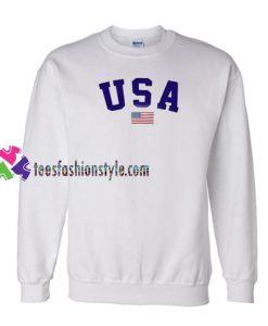 USA Flag Sweatshirt Gift sweater adult unisex cool tee shirts