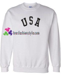 USA Letter Slogan Sweatshirt Gift sweater adult unisex cool tee shirts