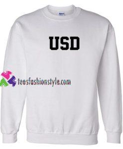 USD Sweatshirt Gift sweater adult unisex cool tee shirts