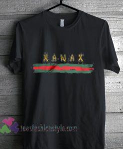 XANAX shirt women men, blogger t-shirt, streewear t shirt, instagram influencer tshirt, gcc inspired aesthetic t shirt