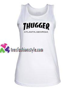 Young Thug X Thrasher Tank Top gift tanktop shirt unisex custom clothing Size S-3XL