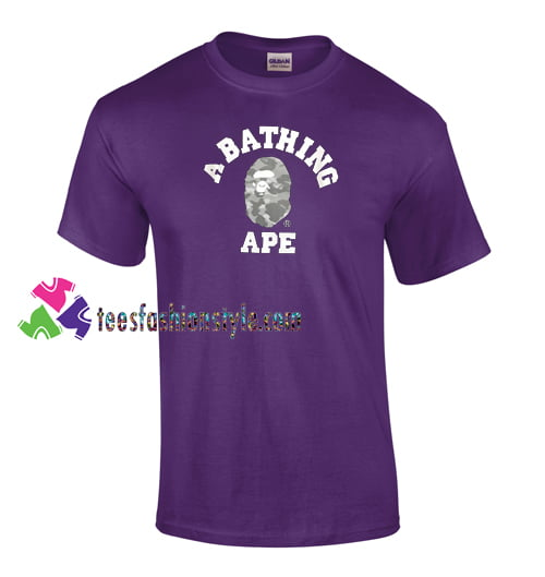 A Bathing Ape T Shirt gift tees unisex adult cool tee shirts