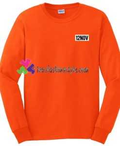 12Nov Sweatshirt Gift sweater adult unisex cool tee shirts