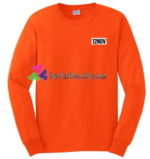 12Nov Sweatshirt Gift sweater adult unisex cool tee shirts