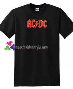 ACDC T Shirt gift tees unisex adult cool tee shirts
