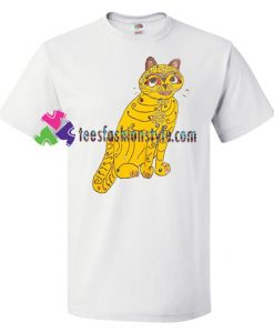 Abba Cat T Shirt gift tees unisex adult cool tee shirts