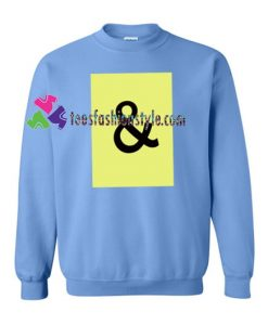 And Graphic Sweatshirt Gift sweater adult unisex cool tee shirts