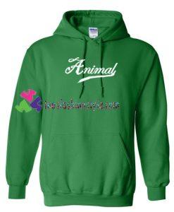 Animal Font Hoodie gift cool tee shirts cool tee shirts for guys
