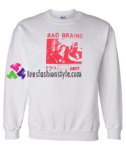 Bad Brains Sweatshirt Gift sweater adult unisex cool tee shirts
