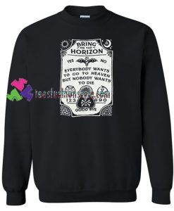 Bring Me The Horizon Spirit Board Sweatshirt Gift sweater adult unisex cool tee shirts