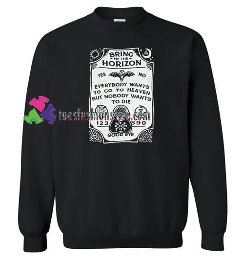 Bring Me The Horizon Spirit Board Sweatshirt Gift sweater adult unisex cool tee shirts