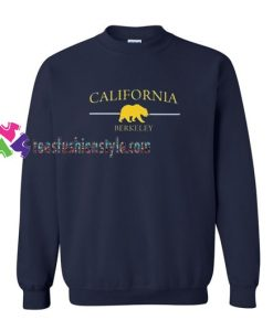 California Berkeley Sweatshirt Gift sweater adult unisex cool tee shirts