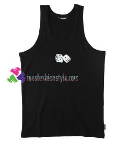 Classic Dice Tank top gift tanktop shirt unisex custom clothing Size S-3XL